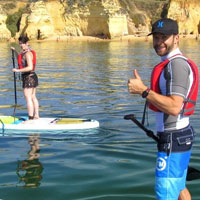 coastal sup tour