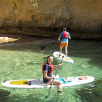 algarve stand up paddleboarding